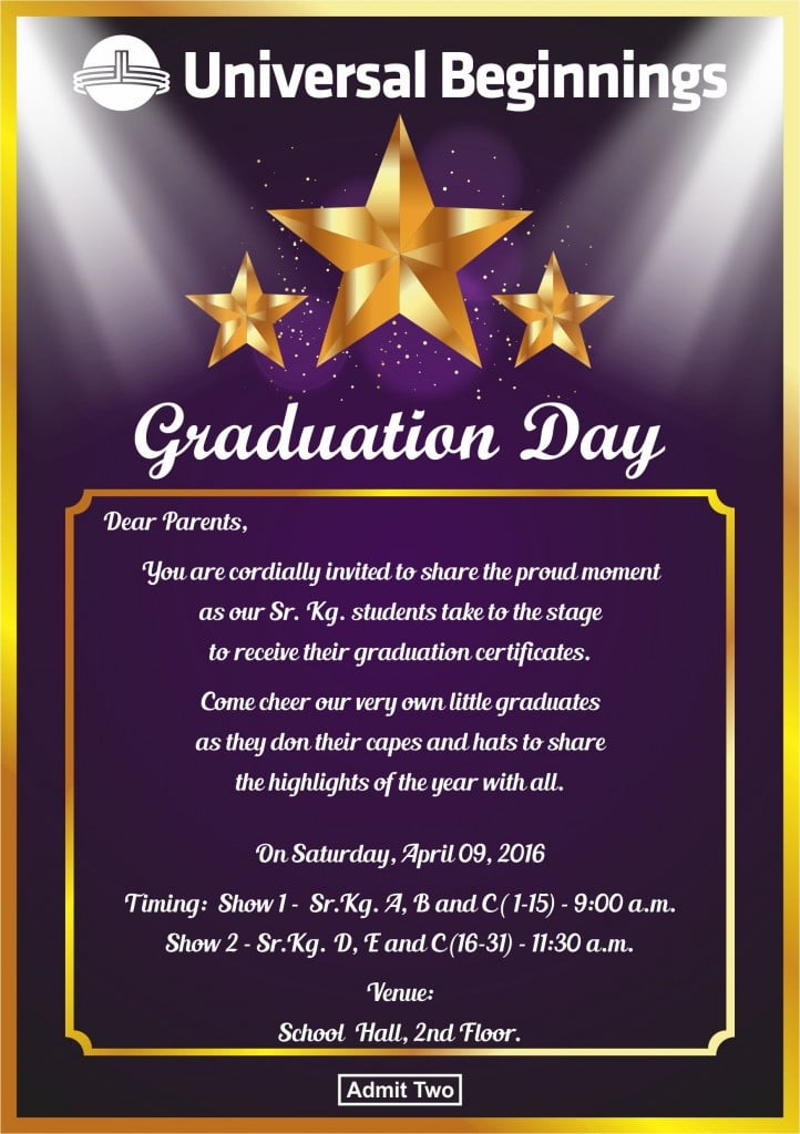 Graduation Day Invite